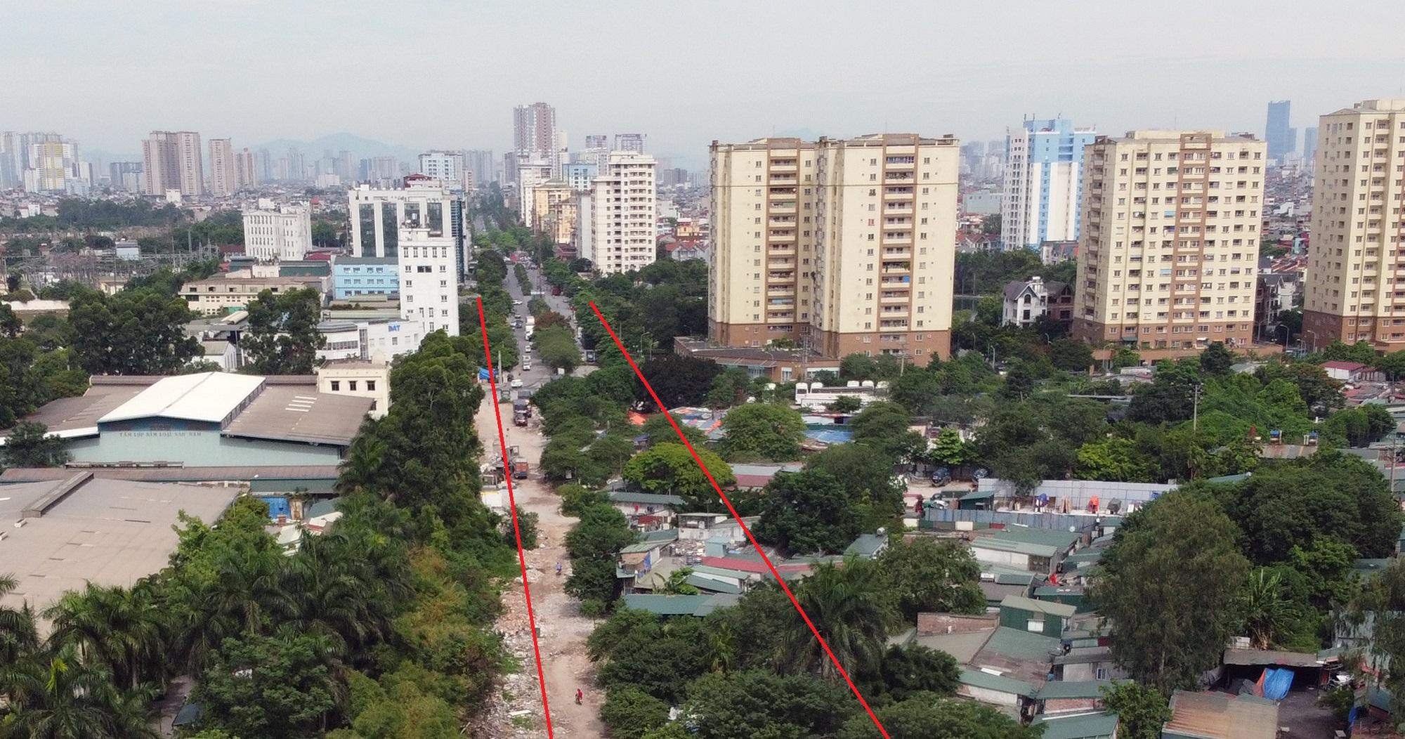 đường sẽ mở theo qui hoạch ở phường Hoàng Văn Thụ, Hoàng Mai, Hà Nội - Ảnh 3.