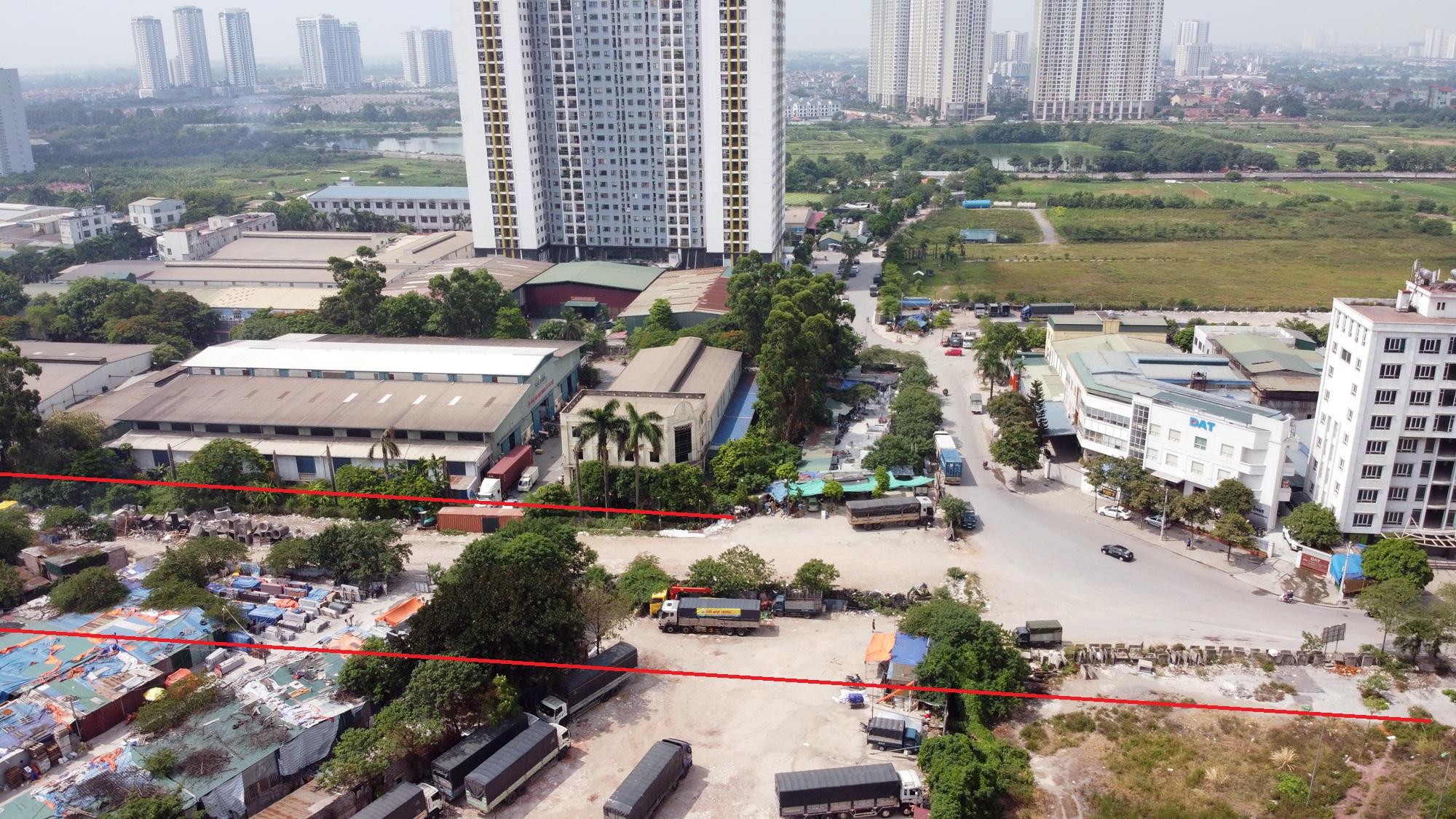 đường sẽ mở theo qui hoạch ở phường Hoàng Văn Thụ, Hoàng Mai, Hà Nội - Ảnh 4.