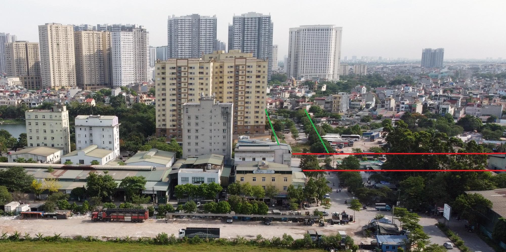 đường sẽ mở theo qui hoạch ở phường Hoàng Văn Thụ, Hoàng Mai, Hà Nội - Ảnh 7.