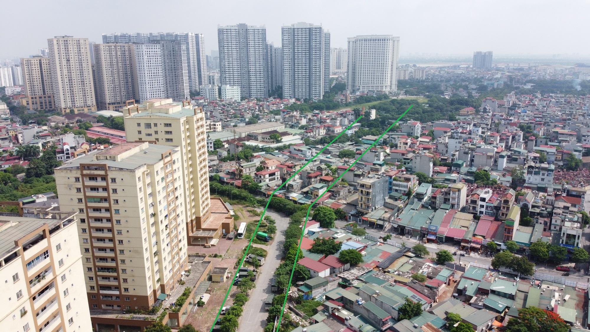đường sẽ mở theo qui hoạch ở phường Hoàng Văn Thụ, Hoàng Mai, Hà Nội - Ảnh 9.