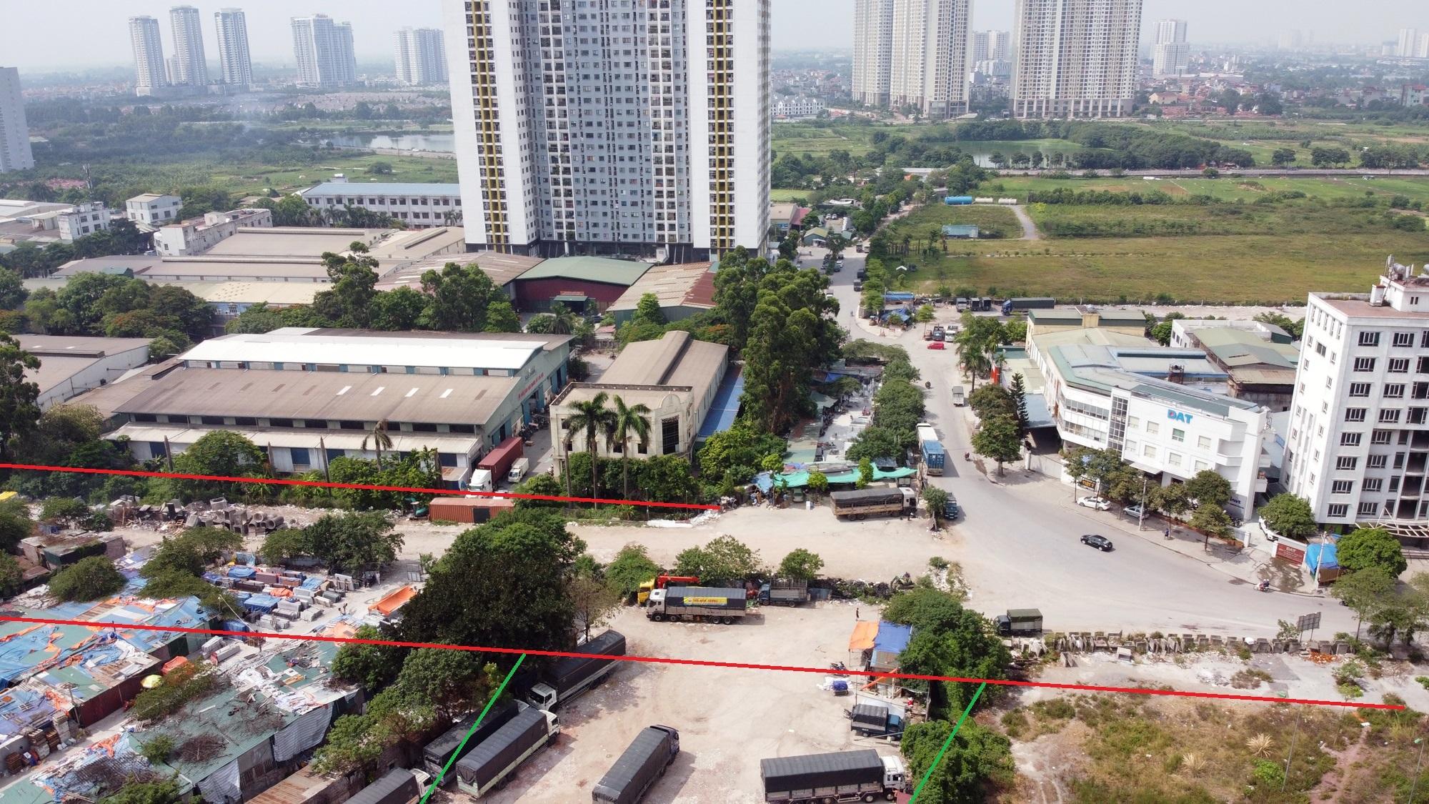 đường sẽ mở theo qui hoạch ở phường Hoàng Văn Thụ, Hoàng Mai, Hà Nội - Ảnh 8.