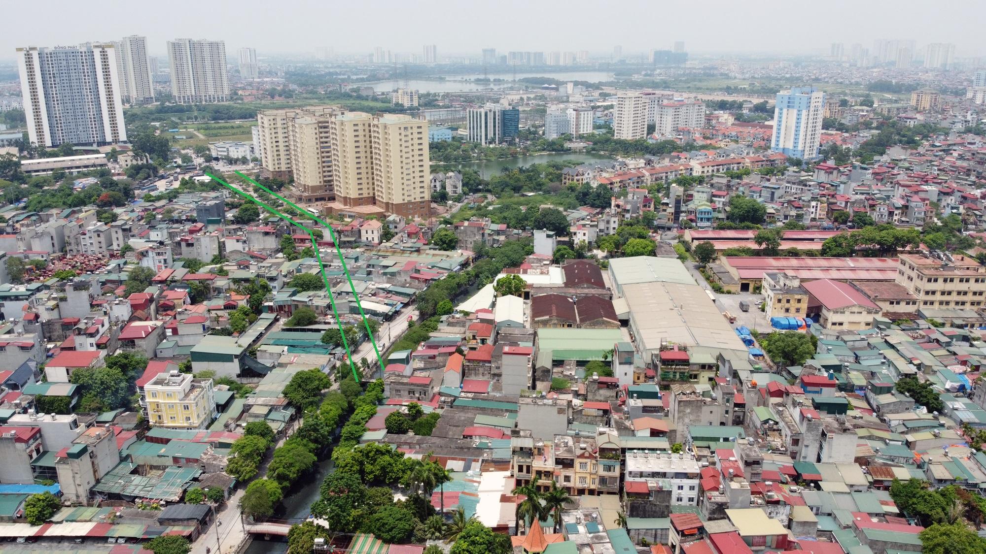 đường sẽ mở theo qui hoạch ở phường Hoàng Văn Thụ, Hoàng Mai, Hà Nội - Ảnh 10.