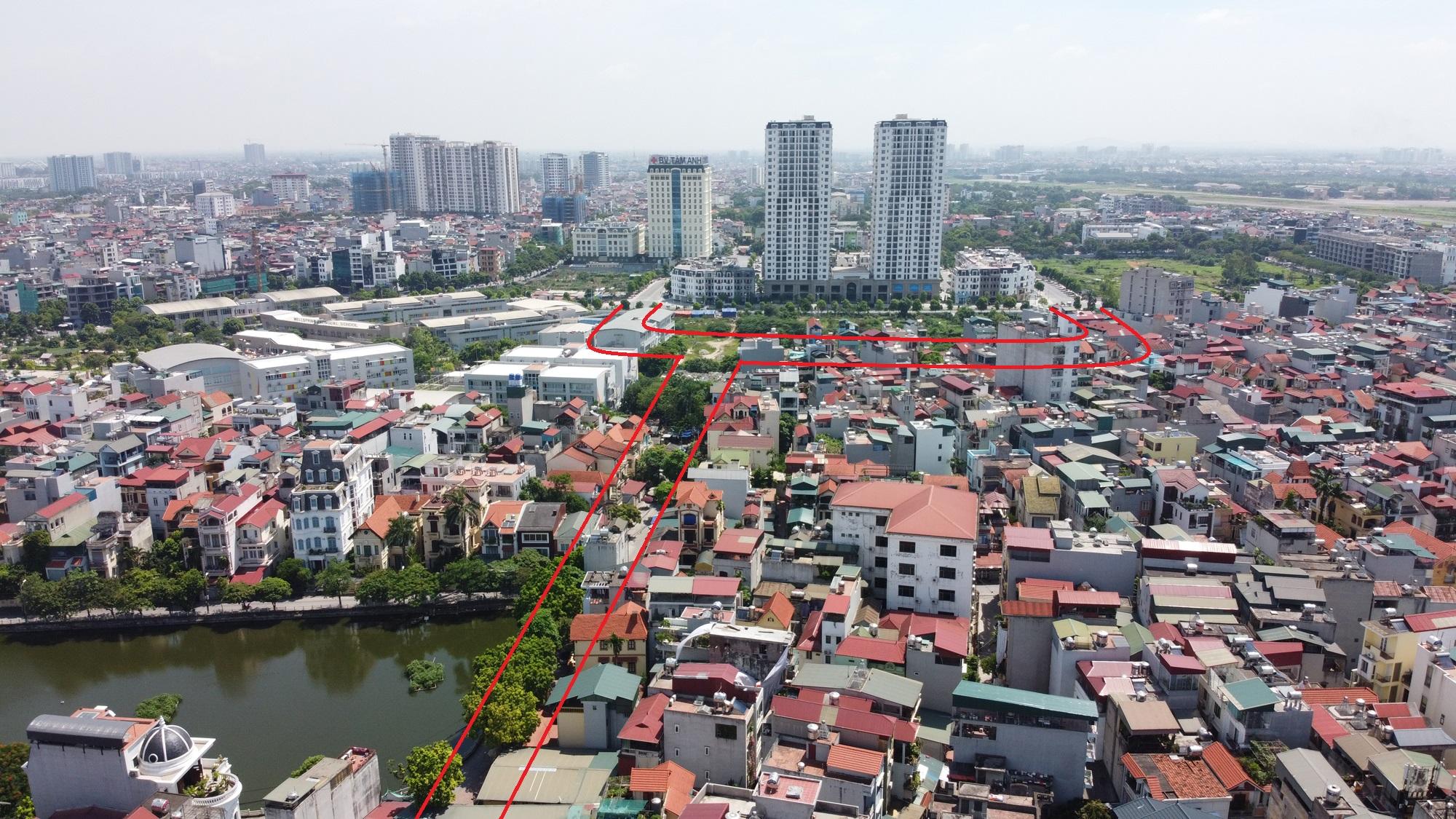 Hai đường sẽ mở theo qui hoạch ở phường Bồ Đề, Long Biên, Hà Nội - Ảnh 4.