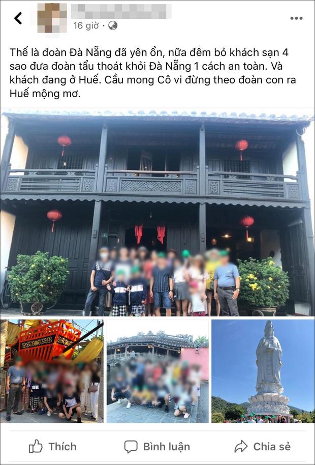 Công ty lữ hành nhận 'bão' 1 sao vì HDV phát ngôn đưa khách 'tẩu thoát khỏi Đà Nẵng' - Ảnh 1.
