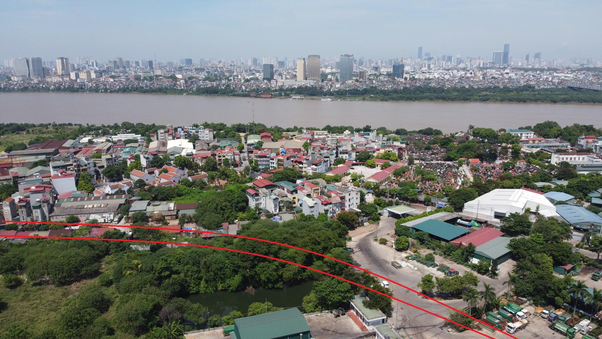 Hai đường sẽ mở theo qui hoạch ở phường Bồ Đề, Long Biên, Hà Nội - Ảnh 7.