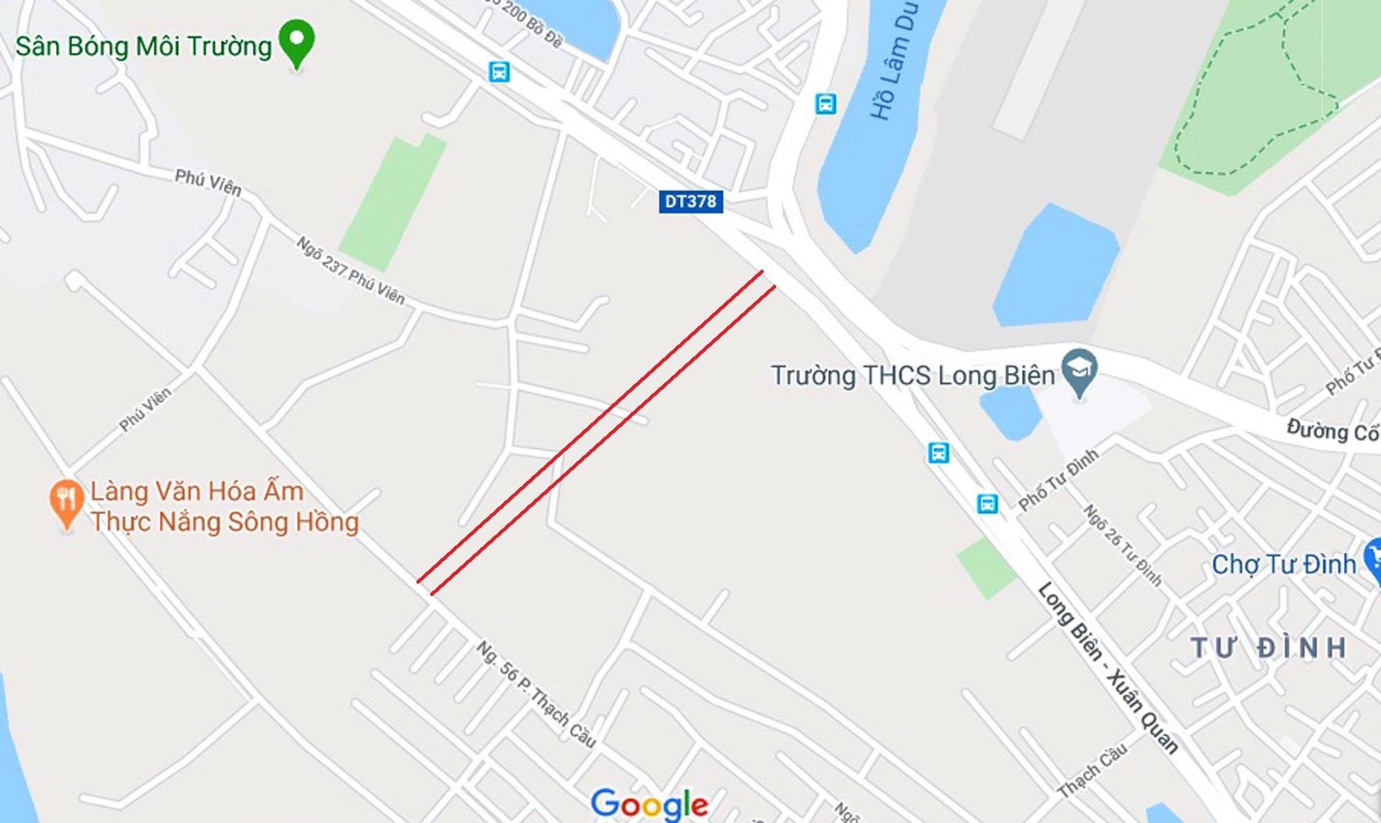 Ba đường sẽ mở theo qui hoạch ở phường Bồ Đề, Long Biên, Hà Nội - Ảnh 9.
