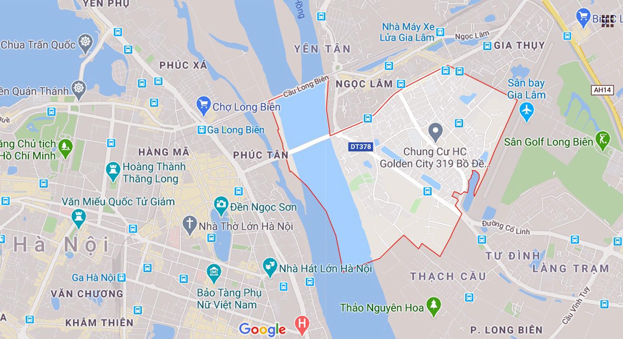 Hai đường sẽ mở theo qui hoạch ở phường Bồ Đề, Long Biên, Hà Nội - Ảnh 1.