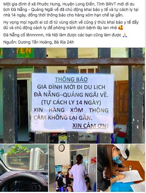'Nhà cô đi từ Đà Nẵng về, xin lỗi không tiếp khách' - Ảnh 2.
