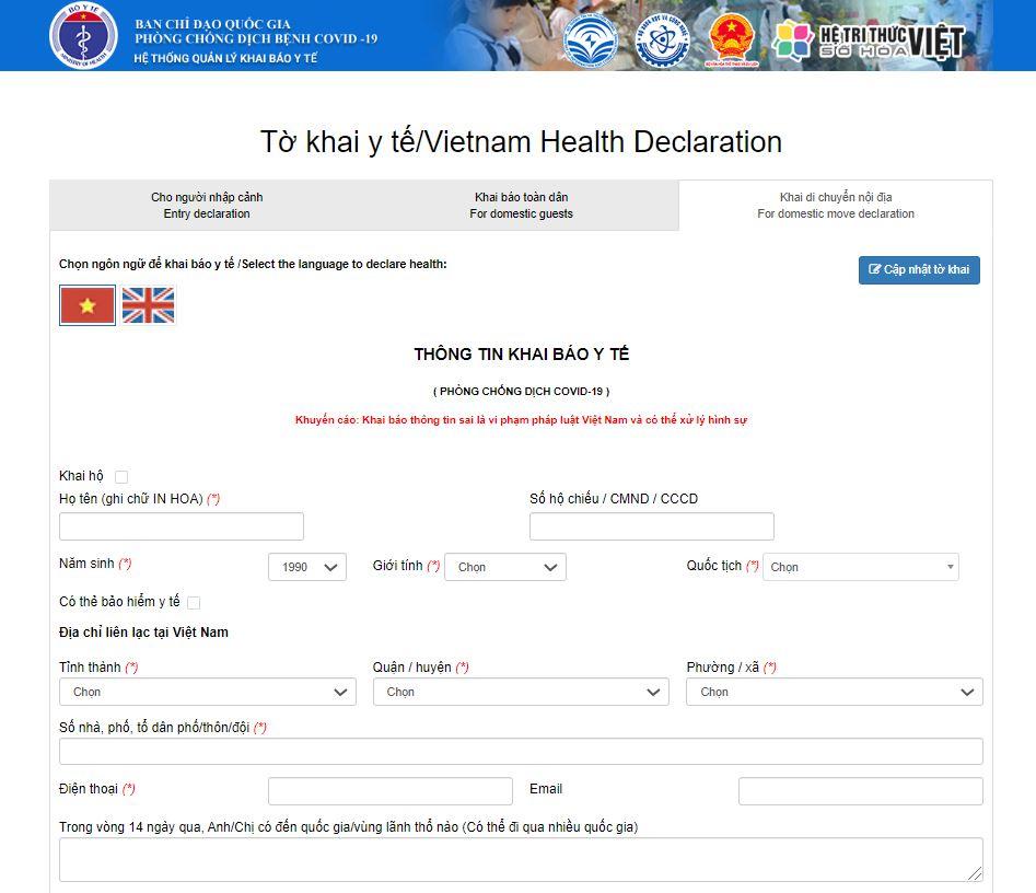 Hướng dẫn khai báo y tế và cách li đối với những người trở về từ Đà Nẵng - Ảnh 2.