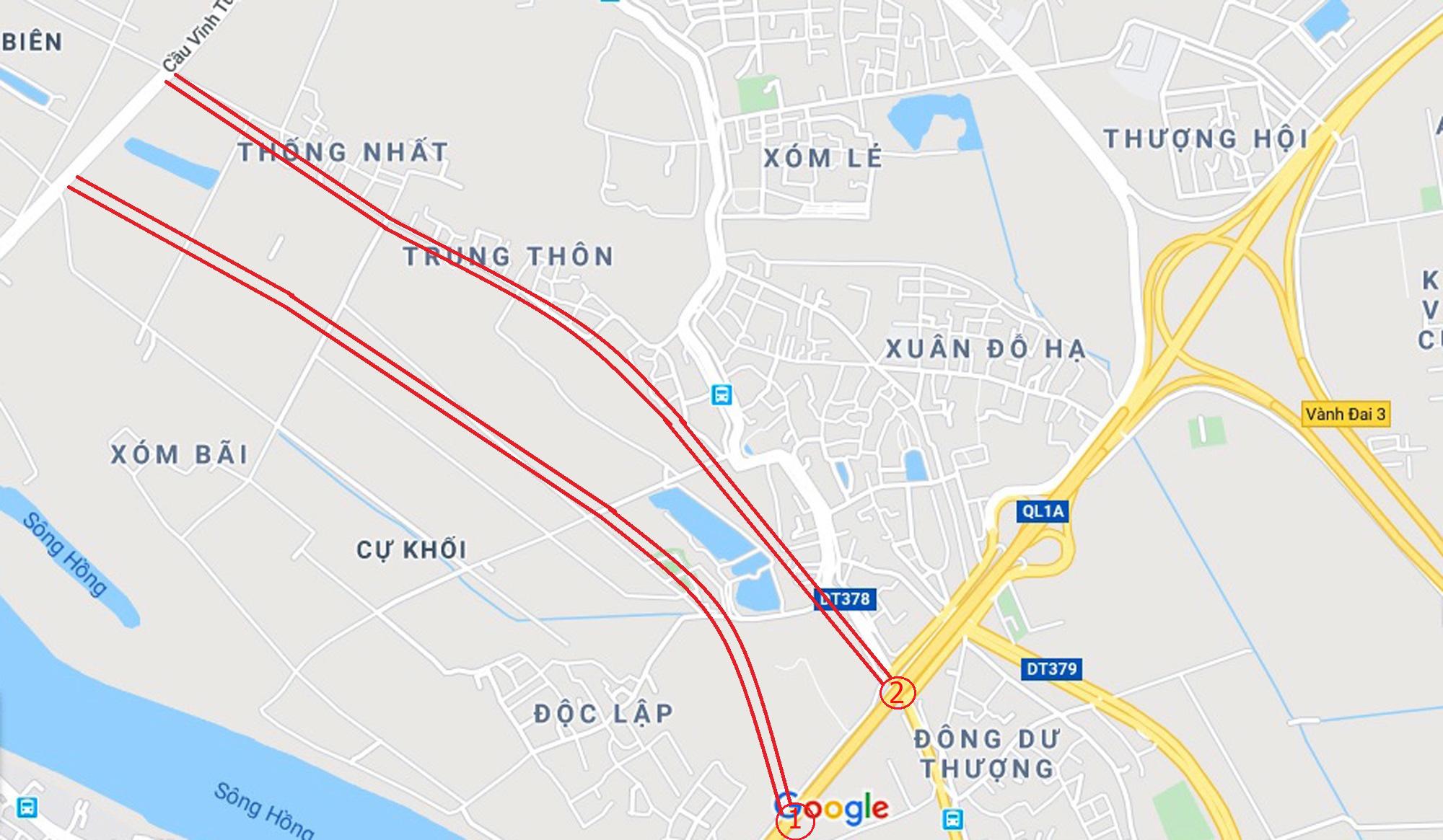 đường sẽ mở theo qui hoạch ở phường Cự Khối, Long Biên, Hà Nội - Ảnh 6.