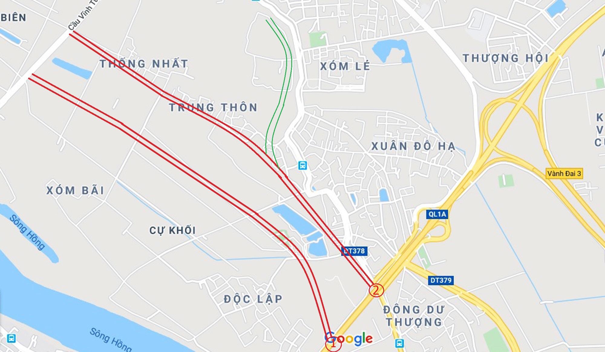 3 đường sẽ mở theo qui hoạch ở phường Cự Khối, Long Biên, Hà Nội - Ảnh 9.