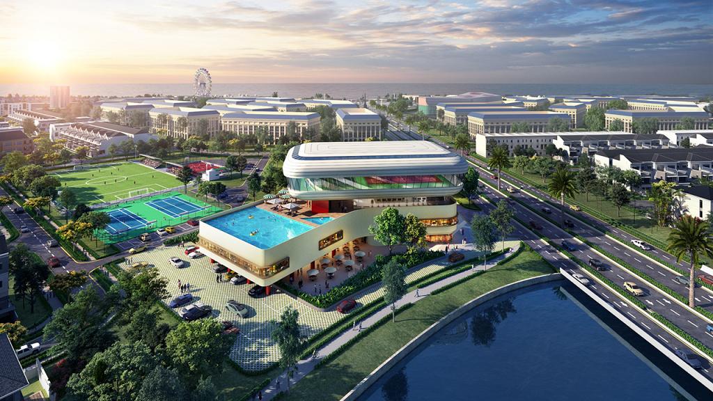 Giá trị sống xanh tại đô thị sinh thái Aqua City - Ảnh 2.
