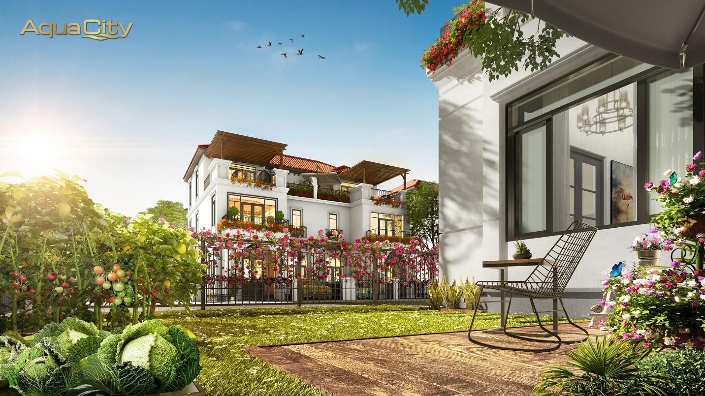 Giá trị sống xanh tại đô thị sinh thái Aqua City - Ảnh 4.