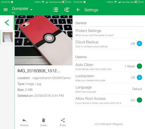 Cách khôi phục dữ liệu đã xoá trên Android cực đơn giản - Ảnh 1.