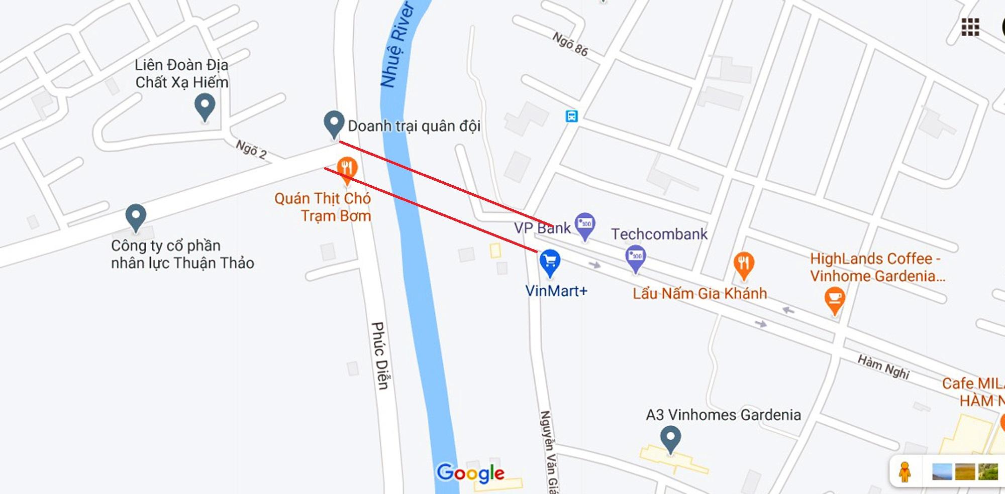 Ba đường sẽ mở theo qui hoạch ở phường Cầu Diễn, Nam Từ Liêm, Hà Nội - Ảnh 2.