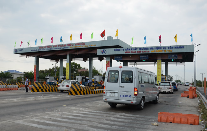 Kiến nghị thu phí trở lại tuyến cao tốc TP HCM - Trung Lương  - Ảnh 1.