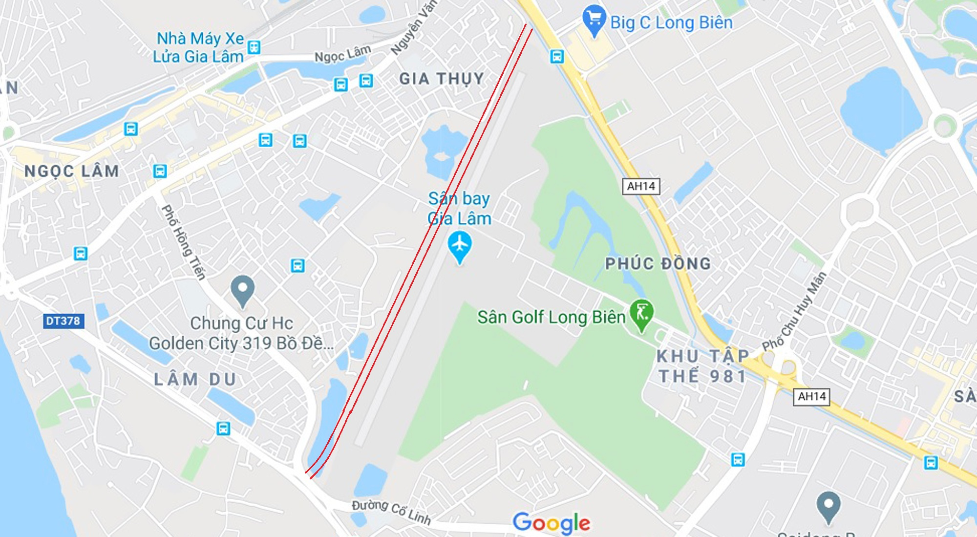đường sẽ mở theo qui hoạch ở phường Phúc Đồng, Long Biên, Hà Nội - Ảnh 2.