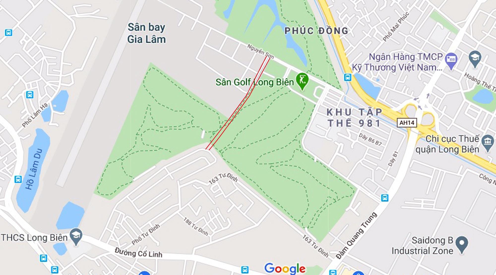 đường sẽ mở theo qui hoạch ở phường Phúc Đồng, Long Biên, Hà Nội - Ảnh 6.