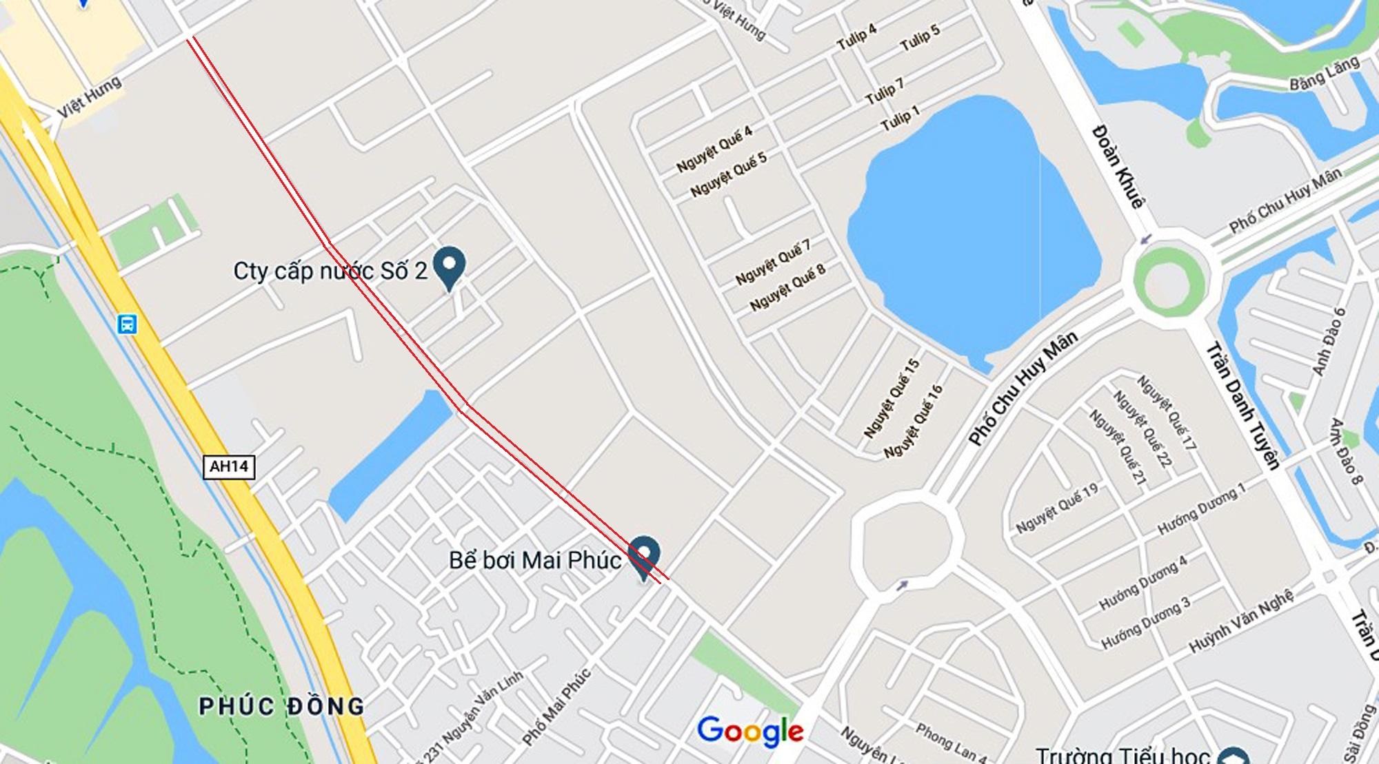 đường sẽ mở theo qui hoạch ở phường Phúc Đồng, Long Biên, Hà Nội - Ảnh 14.