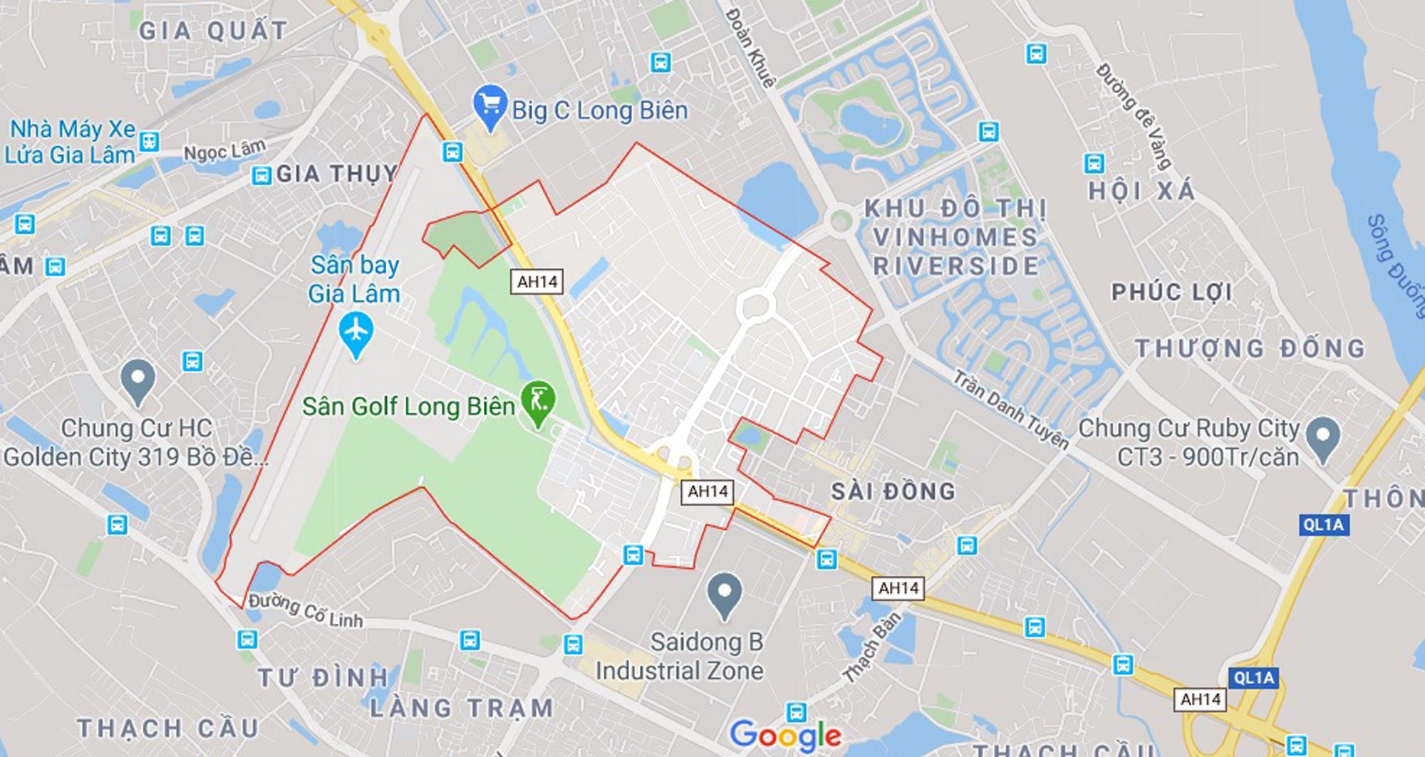 đường sẽ mở theo qui hoạch ở phường Phúc Đồng, Long Biên, Hà Nội - Ảnh 1.