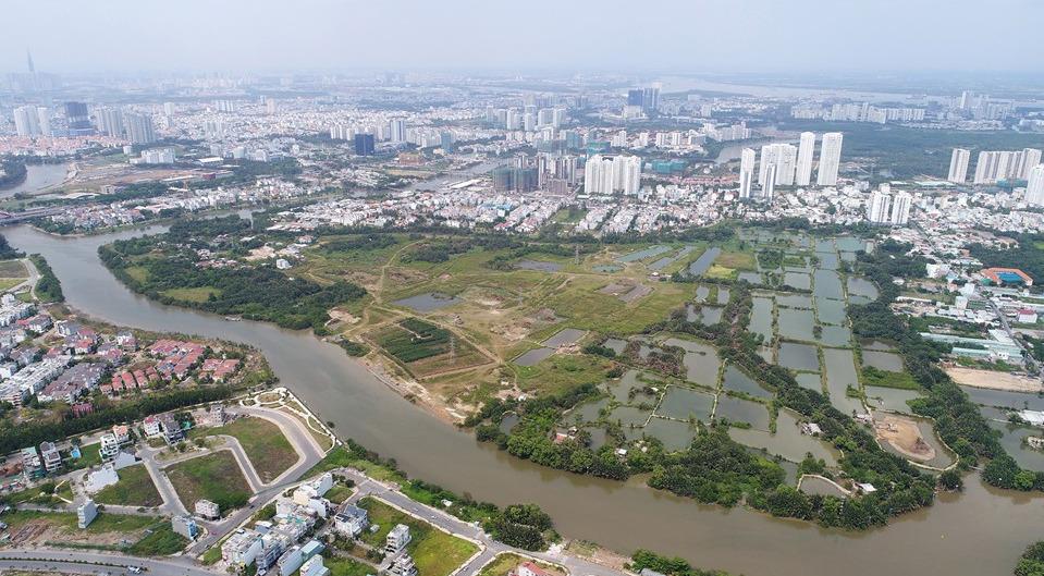 Dự án Phước Kiển có vốn đầu tư 63.000 tỉ đồng không rõ tương lai - Ảnh 1.