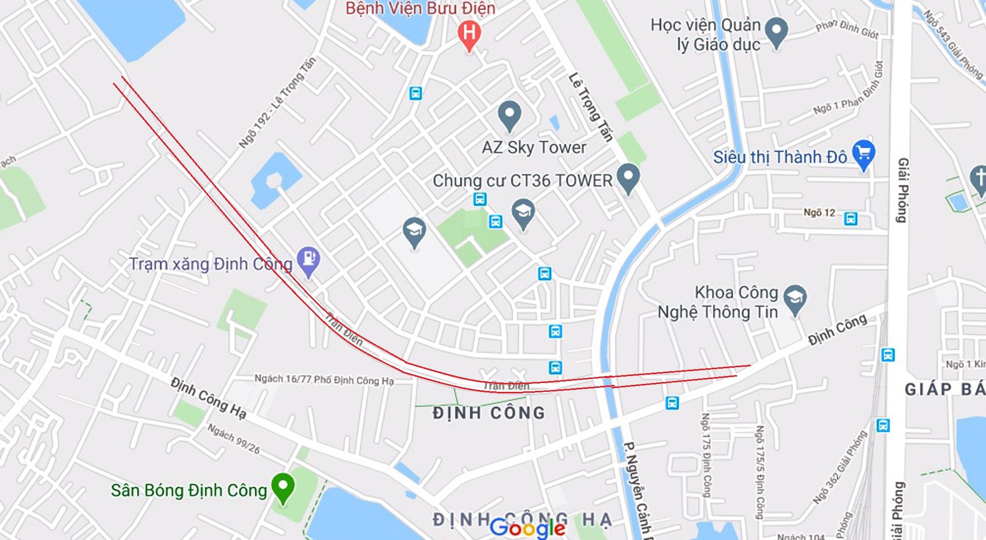 đường sẽ mở theo qui hoạch ở phường Định Công, Hoàng Mai, Hà Nội - Ảnh 7.