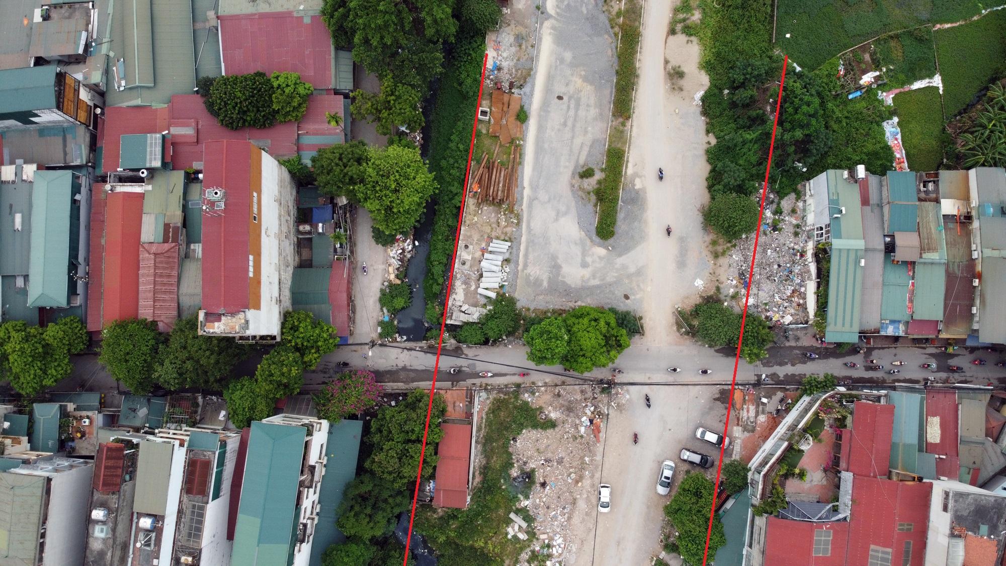 đường sẽ mở theo qui hoạch ở phường Định Công, Hoàng Mai, Hà Nội - Ảnh 9.
