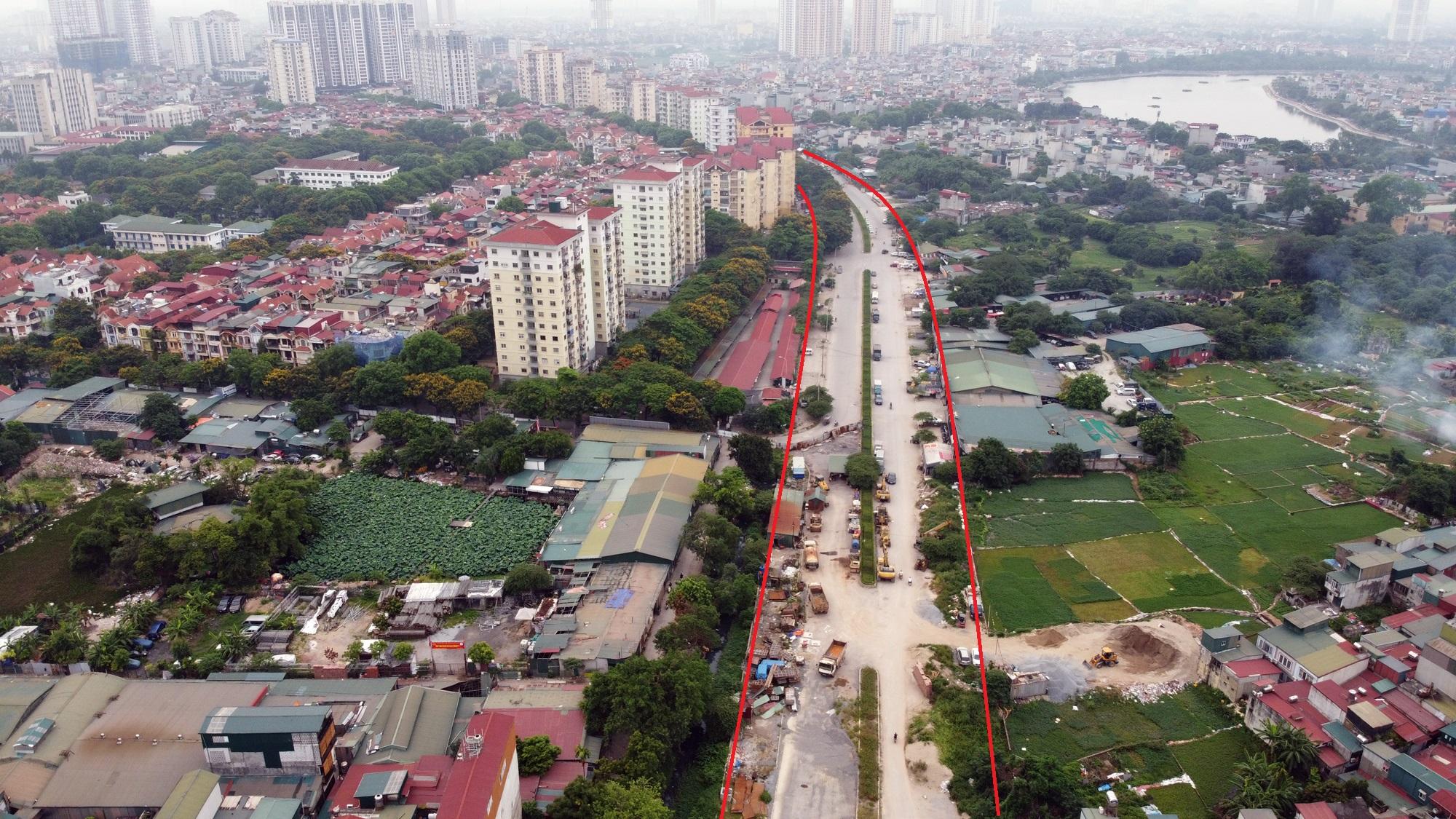 đường sẽ mở theo qui hoạch ở phường Định Công, Hoàng Mai, Hà Nội - Ảnh 10.
