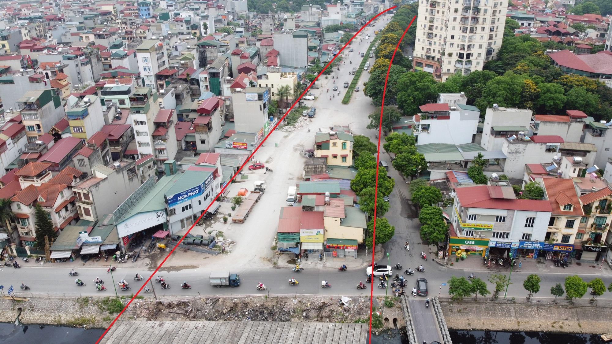 đường sẽ mở theo qui hoạch ở phường Định Công, Hoàng Mai, Hà Nội - Ảnh 11.