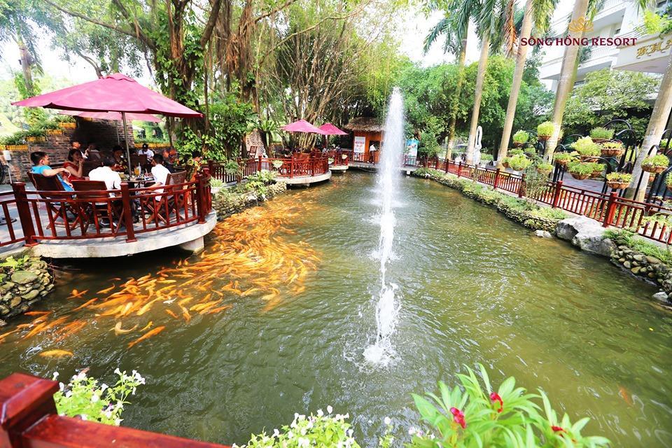 Cuối tuần đổi gió tại resort Sông Hồng - điểm nghỉ dưỡng cách Hà Nội 50 km  - Ảnh 3.