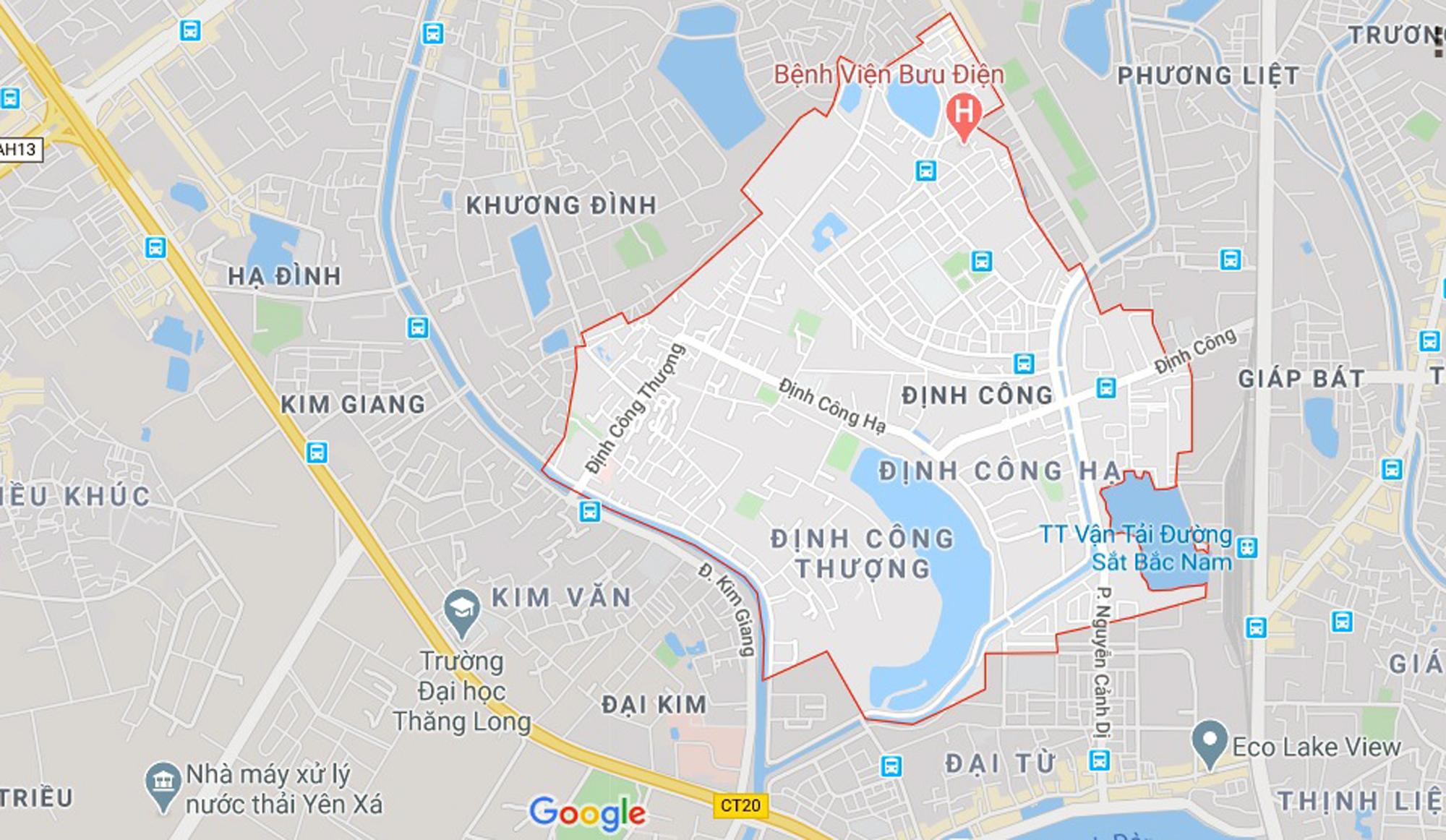 đường sẽ mở theo qui hoạch ở phường Định Công, Hoàng Mai, Hà Nội - Ảnh 1.