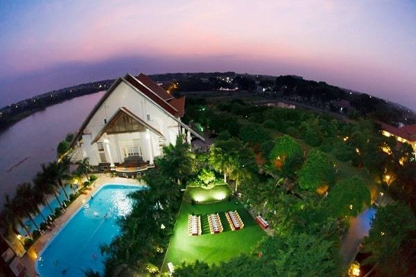Cuối tuần đổi gió tại resort Sông Hồng - điểm nghỉ dưỡng cách Hà Nội 50 km  - Ảnh 1.