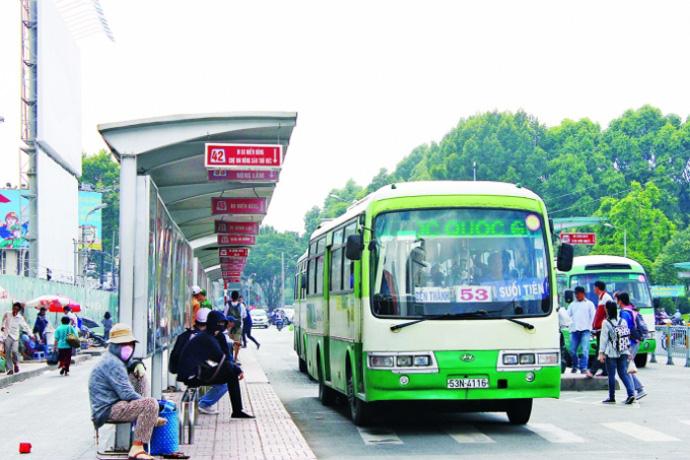 Loạt đơn vị vận tải xe buýt TP HCM đòi ngưng hoạt động từ 15/8 vì hết tiền? - Ảnh 1.