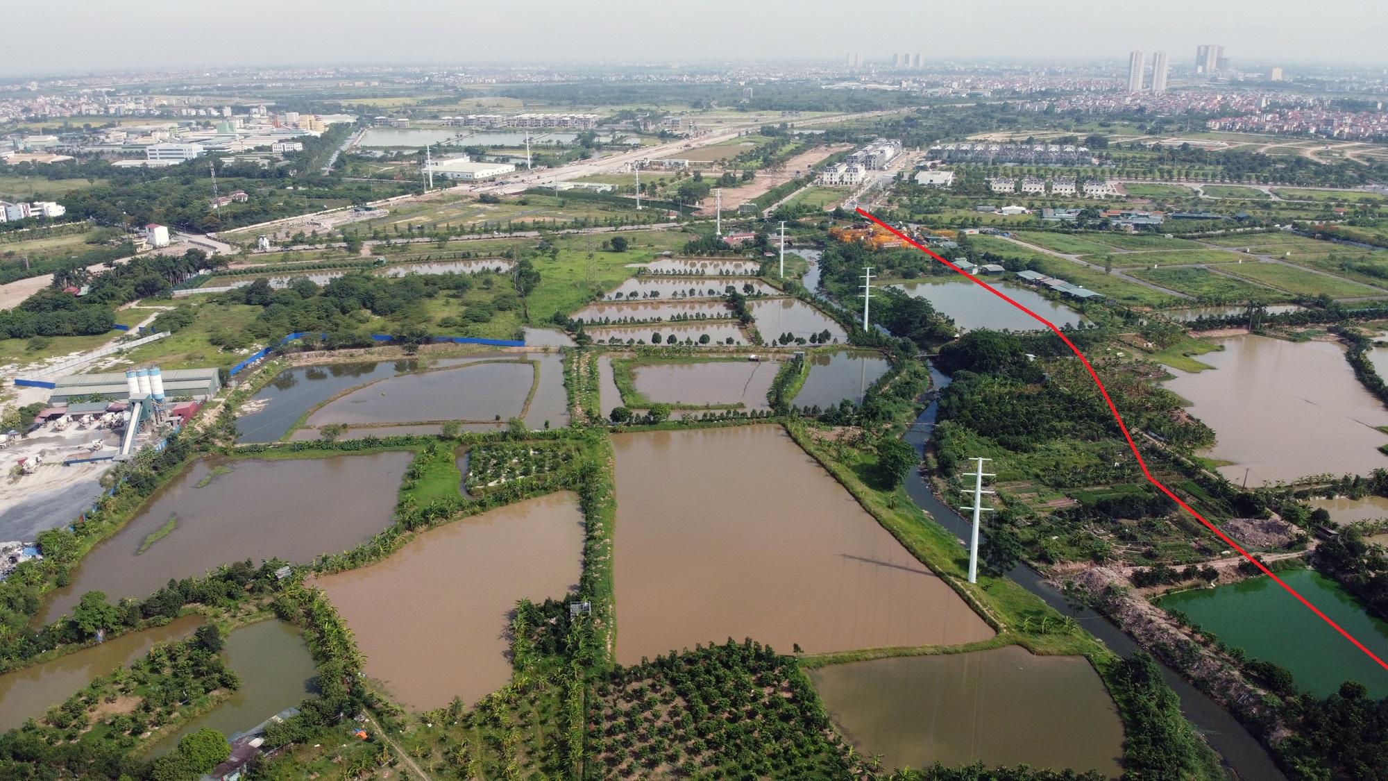 Toàn cảnh nơi xây dựng tuyến đường dài 3km trị giá gần 500 tỉ đồng ở quận Nam Từ Liêm - Ảnh 14.