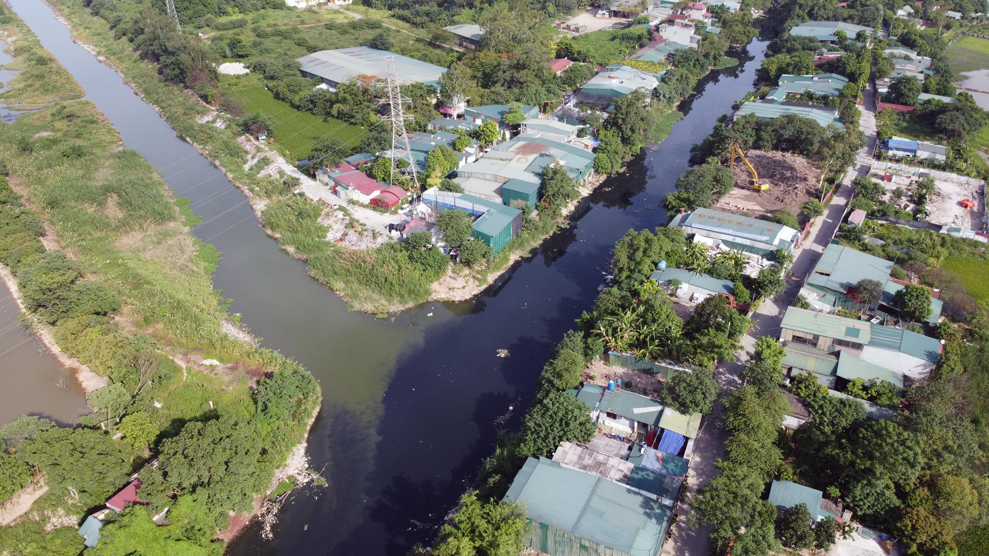 Toàn cảnh nơi xây dựng tuyến đường dài 3km trị giá gần 500 tỉ đồng ở quận Nam Từ Liêm - Ảnh 3.