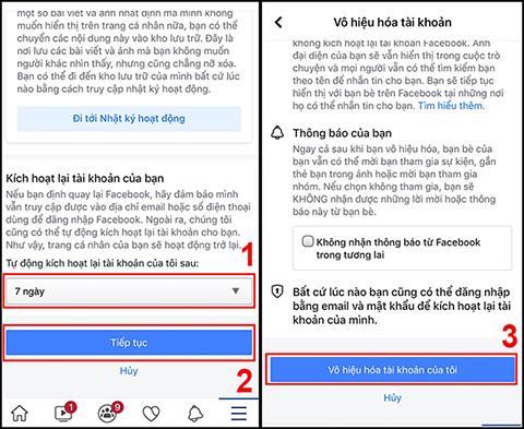 Cách khóa tài khoản facebook tạm thời trên điện thoại và máy tính đơn giản - Ảnh 4.