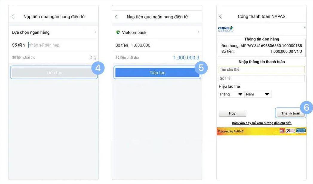 Hướng dẫn đăng kí và cách sử dụng ví điện tử Airpay thanh toán Online an toàn nhất - Ảnh 2.