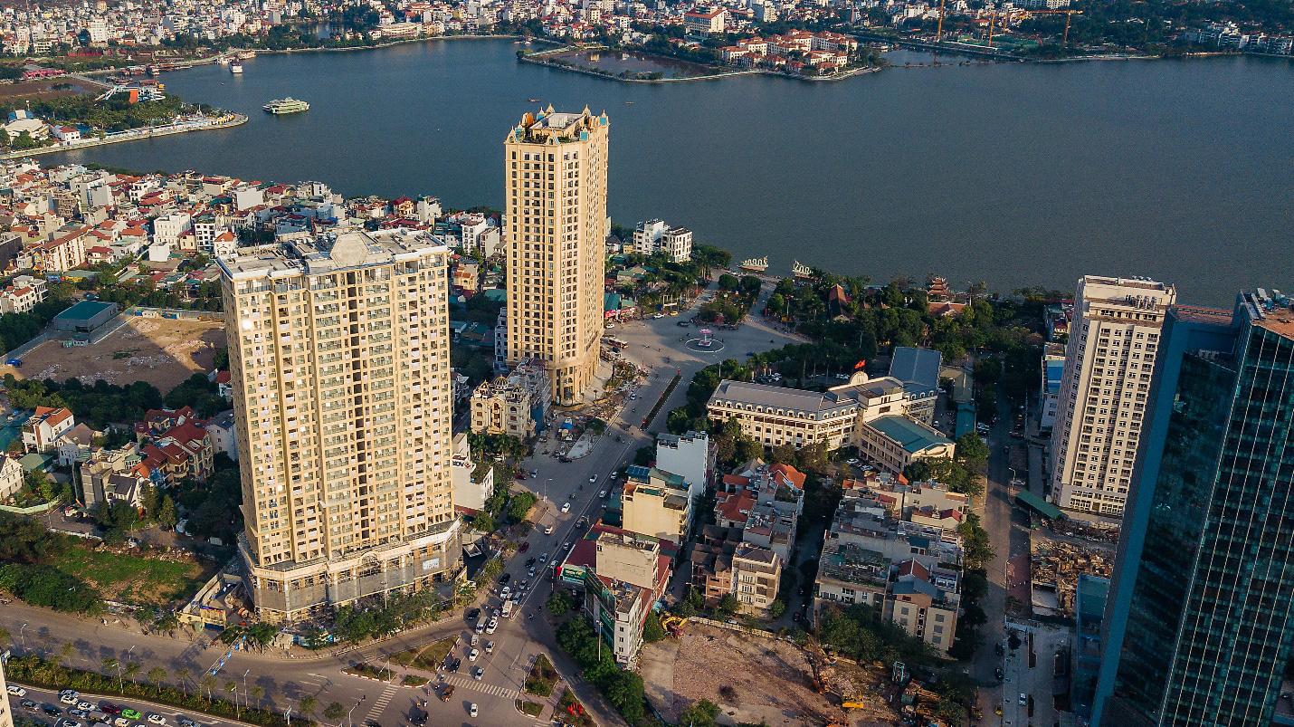 Dự án D' EL Dorado đang mở bán: Cách Hồ Tây 150 m, nằm trên hai đường vành đai của Hà Nội - Ảnh 1.
