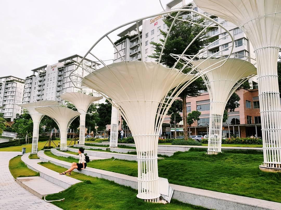 Trốn ồn ào, náo nhiệt nơi phố thị với 'Garden by the Bay' phiên bản Sài Gòn - Ảnh 2.