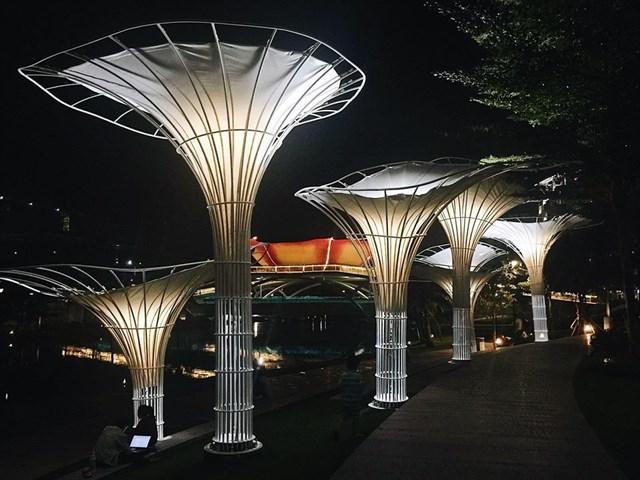 Trốn ồn ào, náo nhiệt nơi phố thị với 'Garden by the Bay' phiên bản Sài Gòn - Ảnh 6.