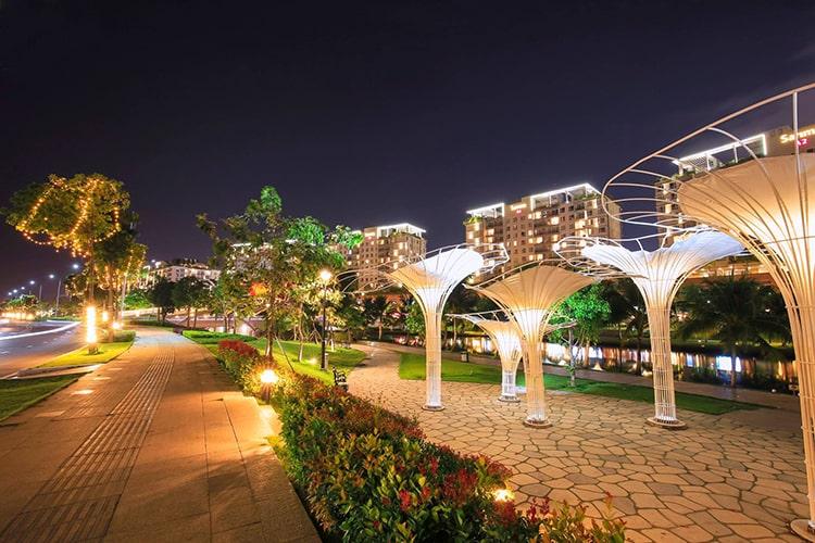 Trốn ồn ào, náo nhiệt nơi phố thị với 'Garden by the Bay' phiên bản Sài Gòn - Ảnh 8.