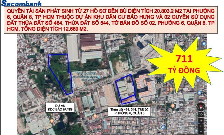 TP HCM: Nhiều bất động sản mặt tiền trị giá nghìn tỉ đồng được ngân hàng giao bán thanh lí tài sản - Ảnh 1.