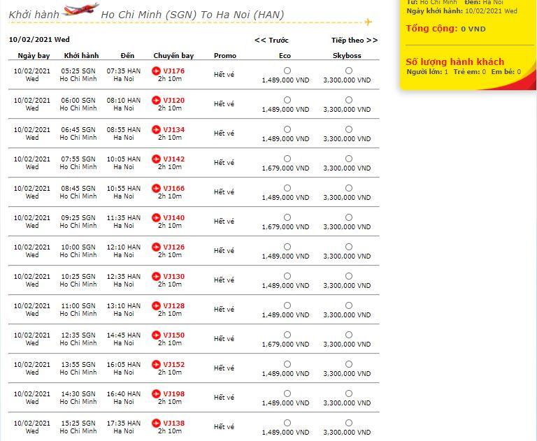 Vé máy bay Tết: các hãng vừa mở bán, nhiều chặng đã 'cháy vé' - Ảnh 2.