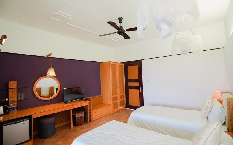 Bên trong 2 khách sạn Huế được sử dụng làm nơi cách li có thu phí - Ảnh 3.