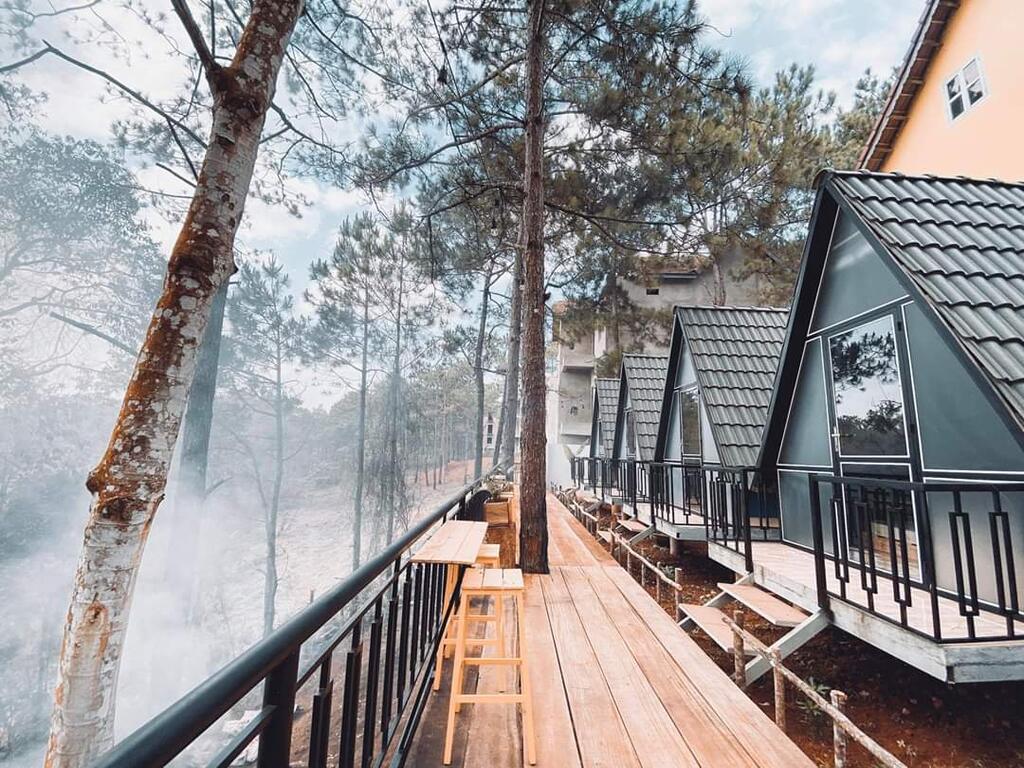Những khu resort, homestay 'đẹp quên lối về' tại Măng Đen Kon Tum  - Ảnh 9.