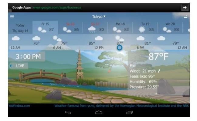 Tổng hợp những ứng dụng dự báo thời tiết hiện nay cho Android và iOS - Ảnh 1.