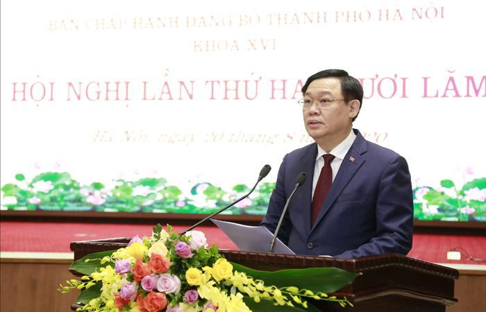 Hà Nội đặt mục tiêu thu nhập bình quân đầu người  8.500 USD vào năm 2025 - Ảnh 1.
