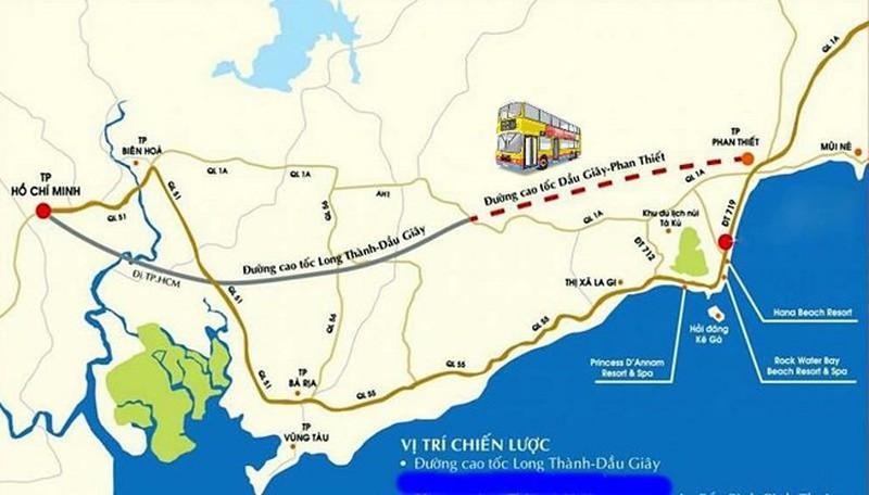 Đường cao tốc Phan Thiết- Dầu Giây sẽ khởi công xây dựng vào cuối tháng 9/2020 - Ảnh 1.