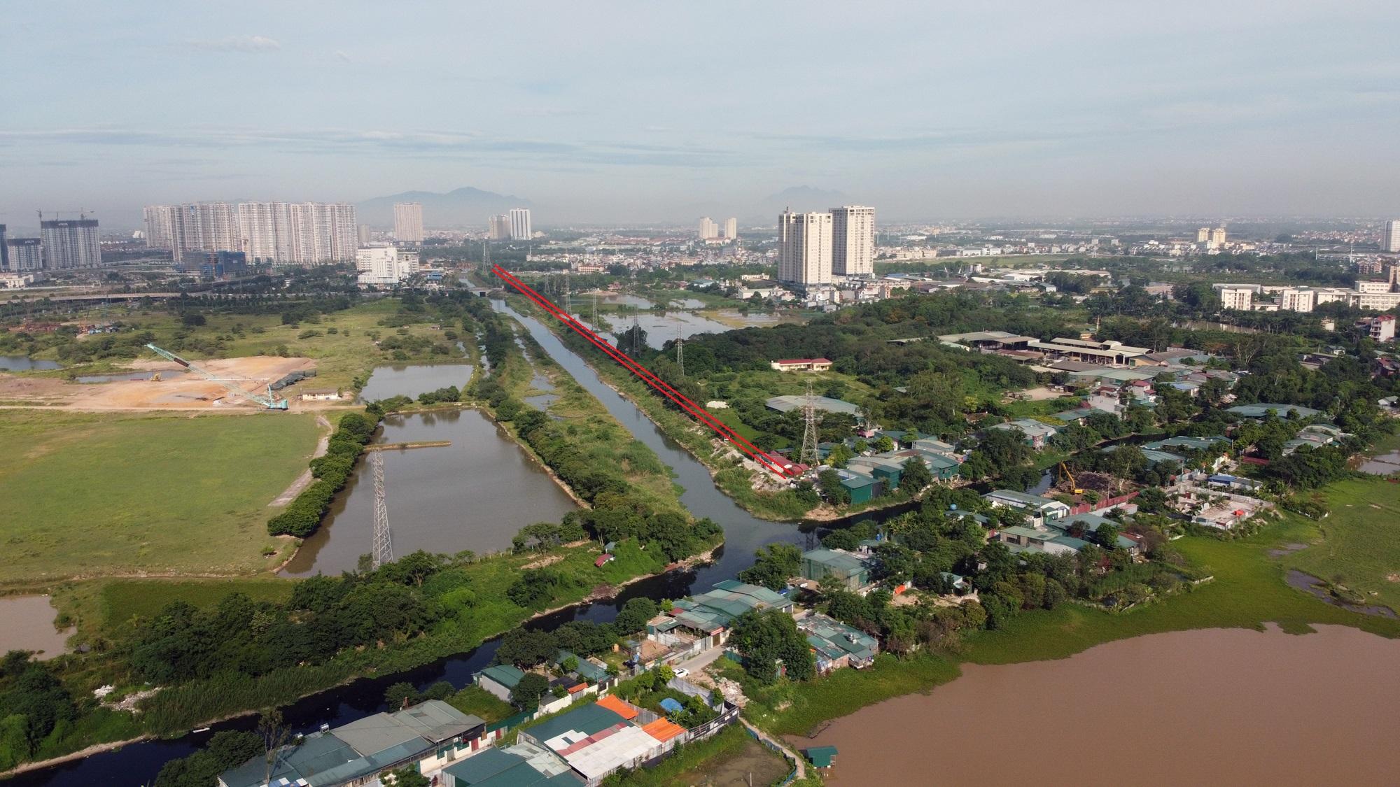 đường sẽ mở theo qui hoạch ở phường Tây Mỗ, Nam Từ Liêm, Hà Nội - Ảnh 3.