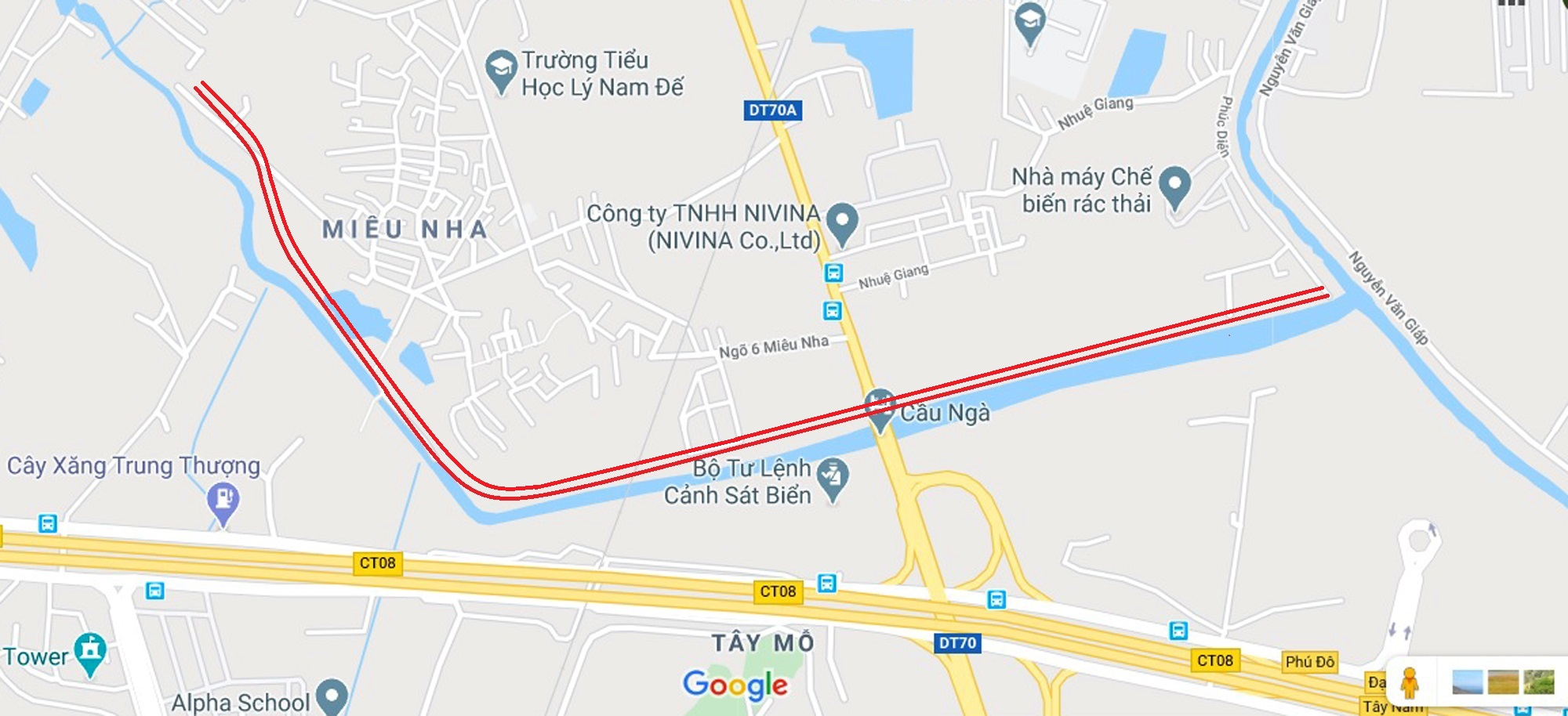 đường sẽ mở theo qui hoạch ở phường Tây Mỗ, Nam Từ Liêm, Hà Nội - Ảnh 2.